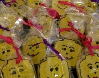 Cookie Favors - Lego Themed