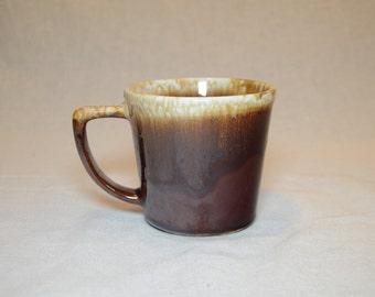 Vintage 1960s MCCOY Brown Drip Lava Glaze Coffee Mug, Tea Mug, Coffee Cup, Tea Cup - Replace Your Broken Mug For Your McCoy Coffee Set
