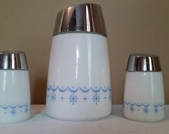 Vintage Salt, Pepper and Sugar Set