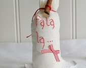 Christmas sachet sack , home decor sachet, Christmas scent, shabby  Swedish holiday decor