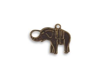 Vintaj 12x16mm Charmed Elephant