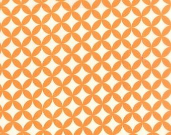 Hello Darling - Hopscotch in Orange - Bonnie and Camille for Moda - 55111 26 - 1/2 yard