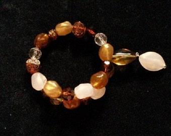 Chunky Gold Drop Bracelet