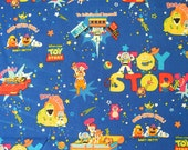 Toy Story cotton linen blend  fabric , Japan fabric , cotton fabric,fabric supplies