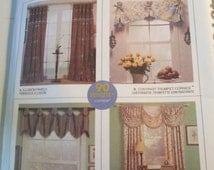 Craft Sewing Paper curtain or drapes pattern by McCalls 4070 uncut paper pattern vintage