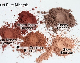 Bronze Goddess Vegan Bronzer- Vegan Mineral Makeup - Absolutely cruelty free and absolutely gorgeous.