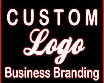 CUSTOM LOGO Design - Business Logo, Business Branding, Business Identity,  One of A Kind Logo, Logo Creation