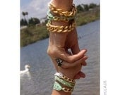 Mommy and Me Bracelet Set- in Mint