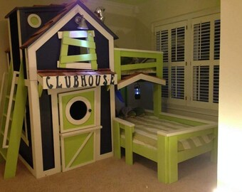 Clubhouse Bunk Bed!