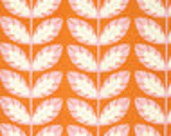 Clementine by Heather Bailey for Free Spirit - Sprout - Tangerine - 1/2 yard cotton quilt fabric 516