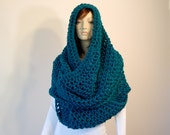 Crochet PATTERN PDF, The Colossal Cowl, Extra Large Circle Scarf, Infinity Scarves, Oversized Wrap Scarf Crochet Pattern, MarlowsGiftCottage