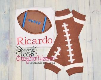 Baby Football outfit,  Baby football outfit, Baby Boy football outfit, Football legwarmers, Football shirt,