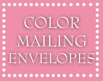 Color Mailing Envelopes