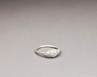 Cluster Silver Ring