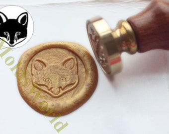 S1272 Fox Wax Seal Stamp , Sealing wax stamp, wax stamp, sealing stamp