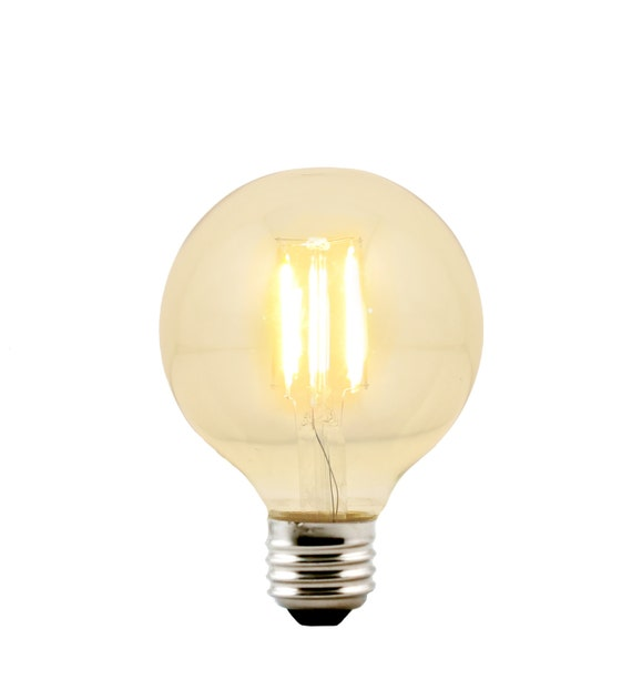 LED G25 Globe 3.125-inch diameter Bulb Medium Base E26 - Replacement for Urban Chandy incandescent