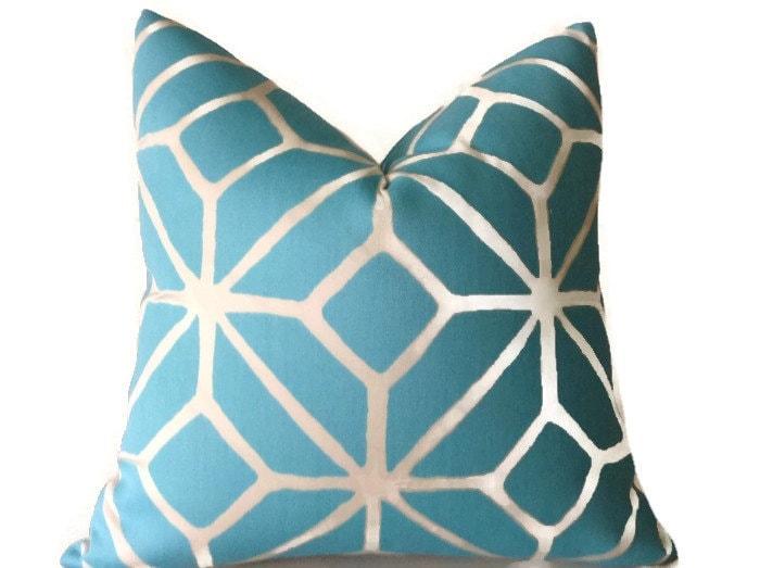 Decorative Pillows Trina Turk : Trina Turk Indoor Outdoor Pillow Blue Pillows Throw Pillows