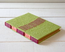 hand stitched books!  notebook, sketchbook or photo- book