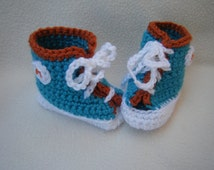 Crocheted High Top Sneakers - Made to Order
