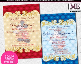 Mickey Mouse Prince Invitations