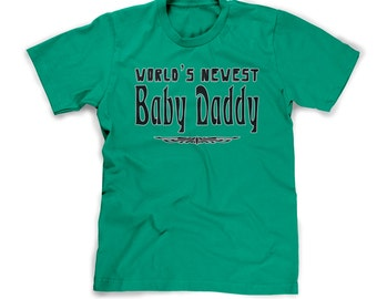 baby daddy t-shirt new dad gift pregnancy announcement shirt im pregnant expecting t shirt boyfriend husband gift newest daddy pops poppa