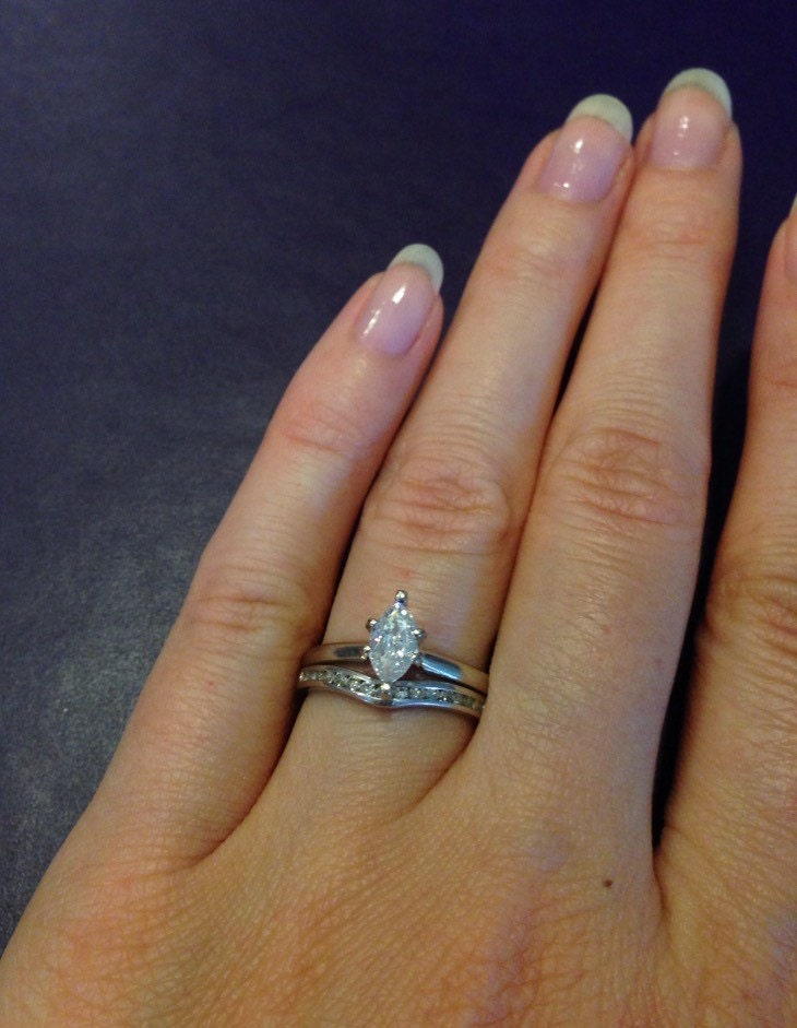 0 35 carat marquise engagement ring offering
