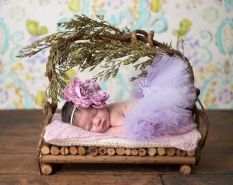 Baby Tutu, Infant Tutu, Purple Tutu- Lilac Purple Tutu Photography Prop