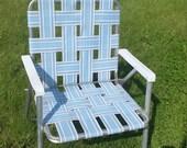 Vintage  aluminum lawn chair