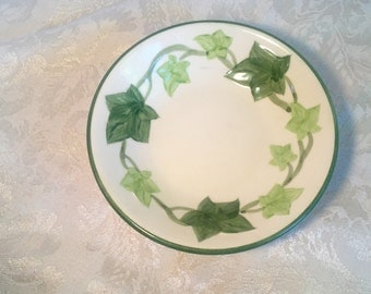 Franciscan Ware Ivy Berry Bowl Vintage Mid Century Pottery Tableware