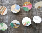BUY 2 GET 1 FREE Vintage Storybook Garland 10ft Long - Nursery Decor, Storybook Decor, Baby Shower, Photo Prop,Birthday Party Decoration