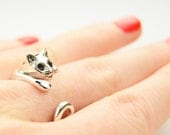 Adjustable Sterling Silver Cat Ring, Cat Ring, Rings, Silver Rings, Cat Ring, Cat Jewelry, Trending Rings, Jewelry, Silver Cat, Cats, Love,