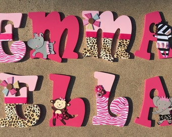 TuTu Cute Wooden Letters (match the Summer Infant bedding), TuTu Letters, Tutu Cute Letters, Dancer Letters, Girly Letters, TuTu cute decor