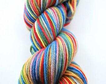 Hand painted merino wool - Justice