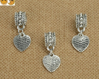 Silver plated,wholesale,jewelry making beads 6mm