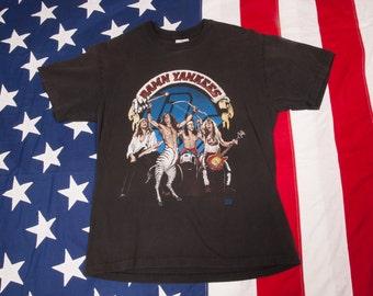 1990s DAMN YANKEES Tour T-Shirt Nugent Size L 90s