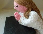 CUSTOM ORDER Faith Praying Girl Lovey/Doll