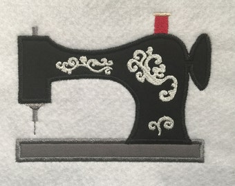 Decorative Sewing Machine Applique Embroidery Design- Instant Download