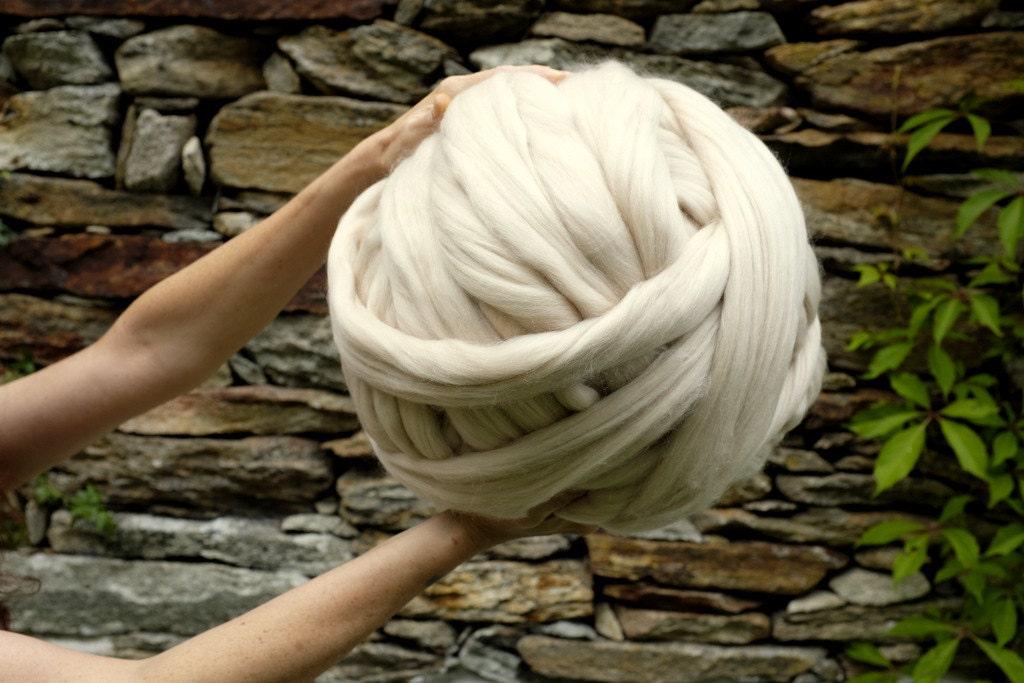 Knitting Stitches Chunky Yarn : 3 INCH STITCH YARN 1 Kg / 22 Lbs Arm Knitting Yarn