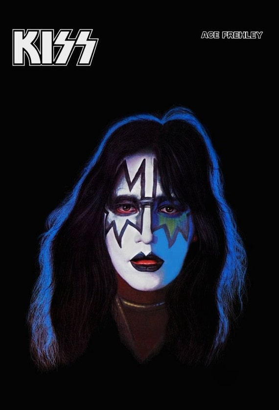 KISS Band Collectibles KISS Ace Frehley Solo Album Counter