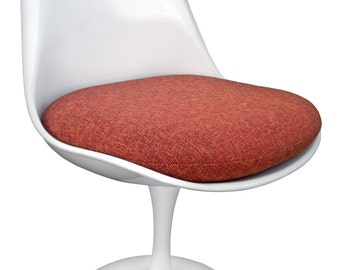 Replacement Cushion for Saarinen or Burke Tulip Side Chair - Quality Upholstery Fabric - Many Colors Available