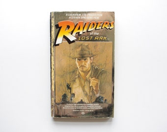 Indiana Jones and the Raiders of the Lost Ark - Campbell Black - Vintage Novel