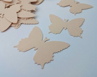 Pink Butterfly Confetti