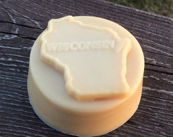 Wisconsin Gift Soap for Travelers- French Milled Goat Milk Soap
