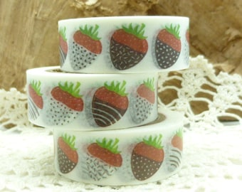 Chocolate Strawberries Washi Tape - JJ1891
