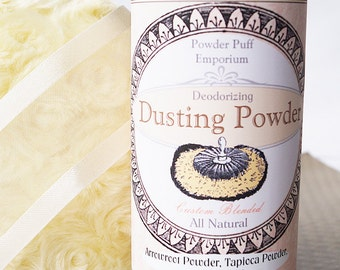 Refillable Bath Powder Shaker for WOMEN (SET)10 oz/ 283.4 grams total! (shaker filled with powder + refill + funnel) Mulit-Use Powder Shaker