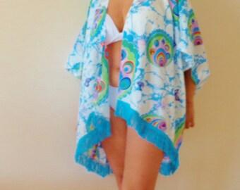 Caftan, Beach ,Cover Up,Kimono, Summer Dress, Boho Dress, Summer Tunic, Women's Fashion, Summer Trend, Swimsuit, Cover Up,Oversize.