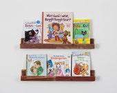 Barnwood kids bookshelves Set of 2