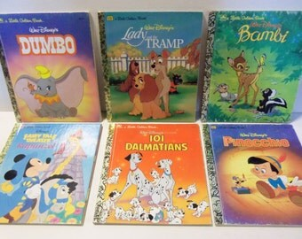 Vintage Disney Golden Books