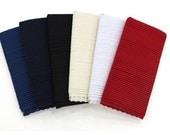 Bias Piping - Navy, Dark Navy, Black, Ivory, White or Red - 15 yards - 65766