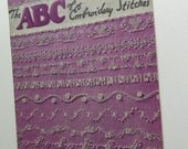 Vintage The ABC of Embroidery Stitches Star Book No. 85